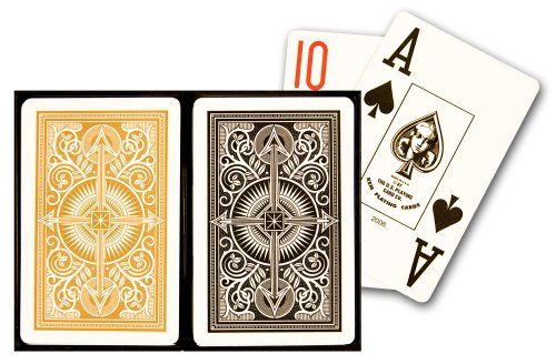 jeux de carte poker kem arrow jumbo