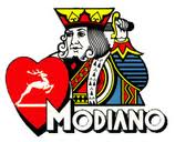 logo jeux de carte modiano