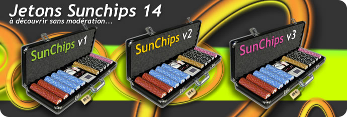 jetons de poker sunchips